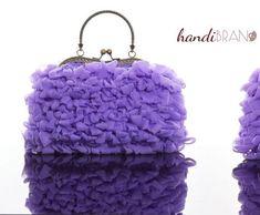 Handibrand.gr - Χειροποίητη τσάντα. Σεμινάρια & Υλικά κατασκευής για χειροποίητες τσάντες. Πλεχτές τσάντες. e-shop υλικών χειροποίητης τσάντας. Yarns, Handicraft, Coin Purse, Wallet, Purses, Metal, Leather, Diy, Frame