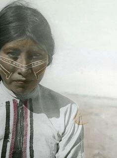 Seri woman, Tiburón Island, Mexico 1936 by E.H. Davis