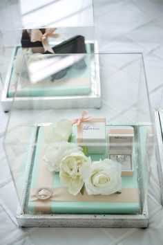 Mint Gift Trays.