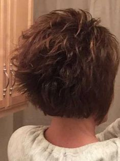 Best Short Layered Haircuts for Women Over 50 Short-Layere. - Best Short Layered Haircuts for Women Over 50 Short-Layered-Hai._ Best Short Layered Haircuts for Women Over 50 - Layered Haircuts For Women, Short Shaggy Haircuts, Popular Short Haircuts, Shaggy Short Hair, Stacked Haircuts, Modern Haircuts, Pixie Haircuts, Pixie Hairstyles, Easy Hairstyles