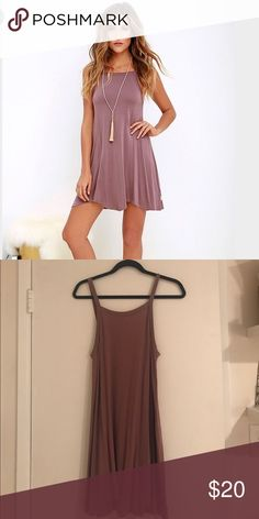 RVCA Mauve Dress Mauve RVCA dress. Worn once RVCA Dresses