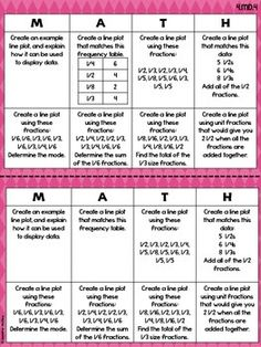 4TH GRADE COMMON CORE MATH CHOICE BOARDS {MEASUREMENT AND GEOMETRY} - TeachersPayTeachers.com