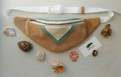 Поясная сумка из замши. Натуральная замша, хлопковый подклад | «Ламбада-маркет»
