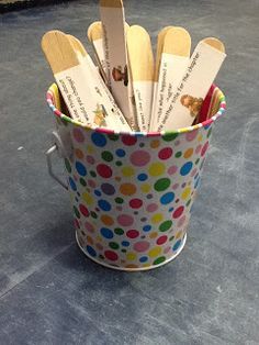 Mrs. McCumbee's Class: Guided Reading- Question Sticks