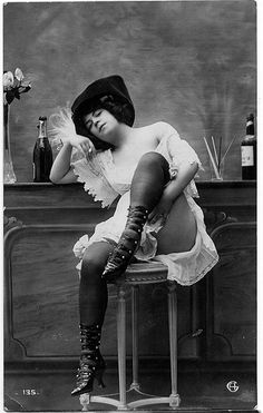 Old west prostitute