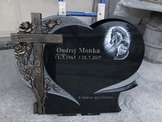 Headstone Ideas, Plaques Funéraires, Memorial Ideas, Monuments, Grief, Funeral, Statues, Daddy, Memories