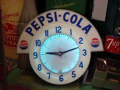 Vintage Pepsi Cola Clocks