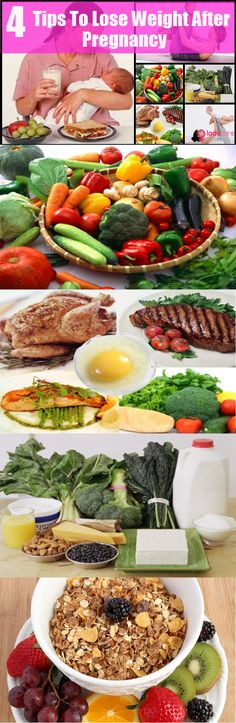 diet plan to reduce weight after pregnancy