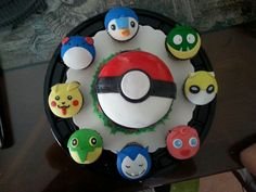 POKÉMON cupcakes from candy's cupcakes