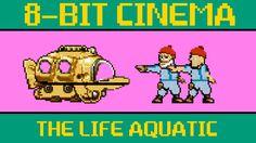 8-bit Cinema: The Life Aquatic With Steve Zissou #animation #retro #8bit #16bit #gaming