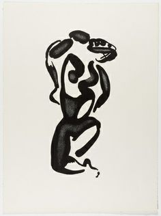 Aleksandr Archipenko (American, 1887–1964)  The Black Dance (La danse noire) from the portfolio Living Forms (Les formes vivantes)