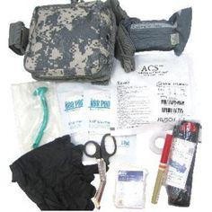 Elite First Aid Enhanced IFAK Level II Medical First Aid Bag FA201