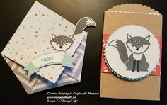 Creative Stamping & Crafts with Margaret: More Foxy Friends! Using Stampin'…
