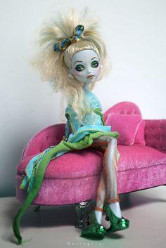 Nenúfar    ©erregiro2011  Monster High Custom Doll  Lagoona Blue