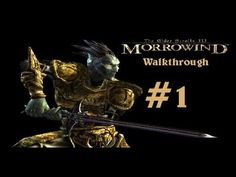 Excuse my sub-par quality I did this walkthrough/LP about 2 years ago where all I had was cam studio and a ghetto Walmart headset. However this video started my longest LP which went for 130 episodes and elapsed 32 HOURS! The Elder Scrolls III Morrowind is one of my favorite games of all time despite its vagueness and needing to read (little voice acting) However it is an amazing game visually and story wise and can occupy you for 100+ hours with its 14 factions, main quest and two…