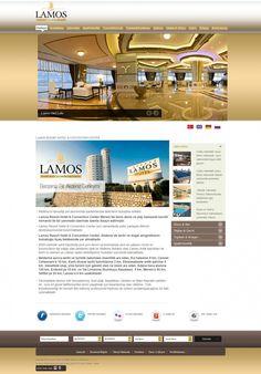Hotel Lamos Web Design http://www.hotellamos.com/