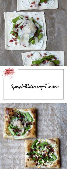 Experimente aus meiner Küche: Spargel-Blätterteig-Taschen
