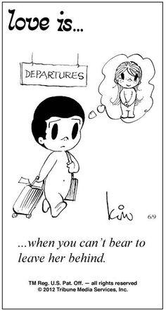Love Is Cartoons by Kim   Love Is ... Comic Strip by Kim Casali (June 9, 2012)