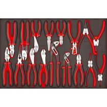 Buy a set of Pliers at Tools Today. We have a wide range of Pliers sets available to buy. whether you need a couple of pairs or a wider range of Pliers.Tools Today for Pliers. Garage Tool Organization, Garage Tools, Tool Storage, Workshop Organization, Garage Ideas, Cool Tools, Diy Tools, Hand Tools, Tool Drawers