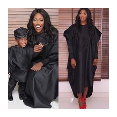 10 Nigerian Female Celebrities That Looked Like Royalty In Well Tailored Agbada