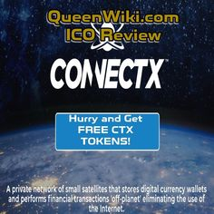 ConnectX Blockchain Satellites in Outer Space