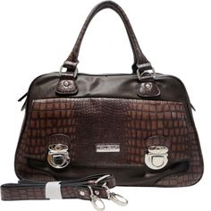 Hot Dasein Croco Texture Satchel Bag