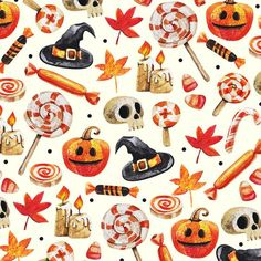 Image shared by annika carilyn. Find images and videos about candy, Halloween and pumpkin on We Heart It - the app to get lost in what you love. Halloween Horror, Halloween Town, Holidays Halloween, Vintage Halloween, Halloween Crafts, Happy Halloween, Halloween Decorations, Halloween Stuff, Halloween Backgrounds