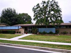 1954 Palmer & Krisel-designed midcentury modern home, North Winnetka, CA Vintage California, Mid Century House, Midcentury Modern, The Originals, Building, Outdoor Decor, Homes, Design, Home Decor