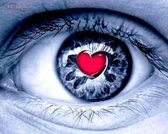 Corazón rojo •  Wallpaper