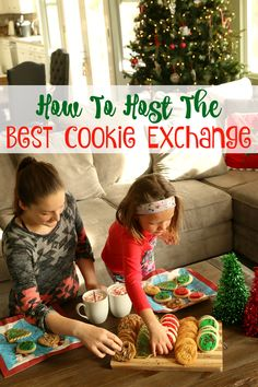 How to host the best cookie exchange! Tips that will change the way you party! TryItHot AD TruMoo