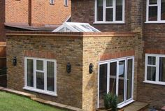 Image result for flat roof rendered parapet