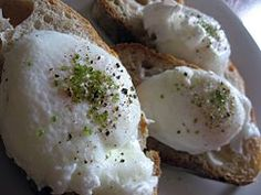 Poached egg - How To