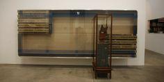 Reinhard Mucha. Hidden Tracks. Exhibition at Luhring Augustine.