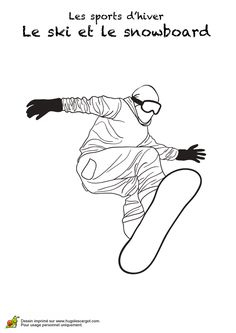 Ice hockey Winter sports color page, sports coloring pages