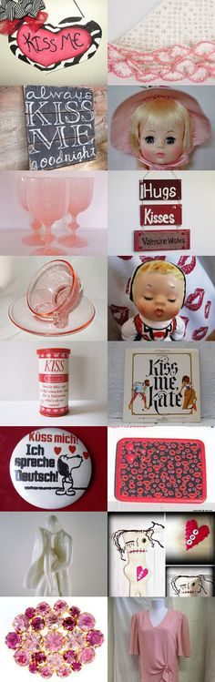 kiss me!! by Daveda on Etsy--Pinned with TreasuryPin.com
