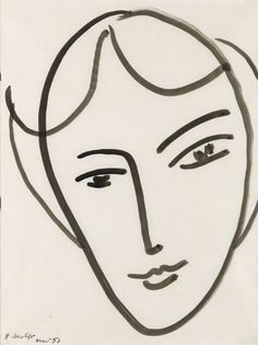 Matisse drawing Swann