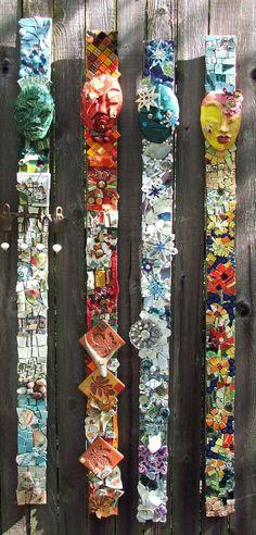 "tammyvitale.com  ""Seasons""  4'tall outdoor mosaic"