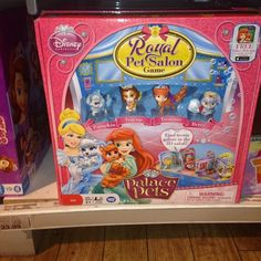 Disney Palace Pets Royal Pet Salon Game!