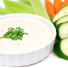 Healthy (Vegan-Raw) Ranch Dressing: 1/2 cup cashews soaked 2 to 4 hours, drained and rinsed 1-2 tablespoon lemon juice 1/2 to 3/4 cup fresh almond milk (to desired consistency) 1/2 teaspoon Himalayan Sea Salt 1/4 to 1/2 teaspoon onion powder 1/4 to 1/2 teaspoon garlic powder 1 tablespoon dried parsley 1 tablespoon fresh or dried chives