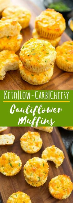 Cauliflower Muffins #appetizers #keto - Healthy Diet Recipes - #Appetizers #Cauliflower #diet #healthy #Keto #MUFFINS #Recipes