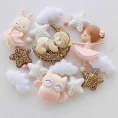 Animal Crafts For Kids, Diy For Kids, Diy Arts And Crafts, Felt Crafts, Baby Diy Projects, Baby Room Colors, Diy Fashion Hacks, Egg Carton Crafts, Creation Deco