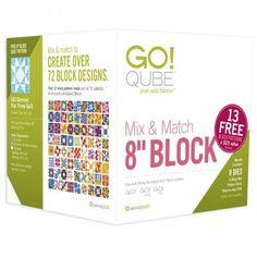 "GO! Qube Mix & Match 8"" Block (55776)"