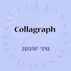 Intaglio collagraph plate making and printing Collagraph, Art Tutorials, Printmaking, Plate, Prints, Dishes, Plates, Printing, Dish