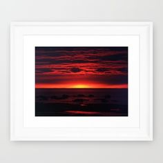 Newly Added  https://society6.com/product/red-sky-at-night-77q_framed-print Follow DanByTheSea https://www.facebook.com/PhotographybyDanByTheSea