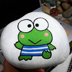 keroppi. #customizedstone