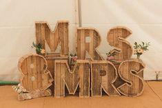 DIY Rustic Woodland Marquee Wedding House of Ollichon loves … DIY Rustic Woodland Marquee Wedding – Mrs & Mrs Lesbian Wedding Sign. Marquee Wedding, Wedding Reception Decorations, Wedding Signs, Diy Wedding, Rustic Wedding, Wedding Venues, Dream Wedding, Wedding Day, Pallet Wedding