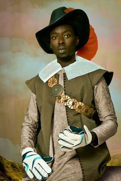 Omar Victor Diop, Don Miguel de Castro, Emissary of Congo (c. From the series: Project Diaspora 2014 Pigment inkjet print on Harman Hahnemuhle paper 47 x 31 Afro Punk, Black History, Art History, Don Miguel, Afrique Art, Contemporary African Art, Modern Contemporary, Editorial, African Diaspora