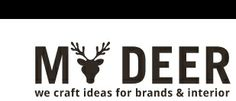 #logo #identity ©My Deer :: we craft ideas for brands & interior