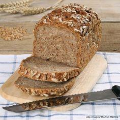 Schnelles Dinkel-Weizen-Vollkorn-Brot