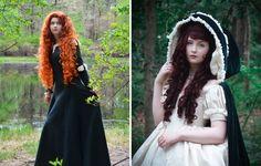 À 18 ans , elle coud de sublimes robes qui semblent sorties de contes de fées | Buzzly